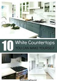 diy concrete countertops over laminate diy white concrete countertops over laminate