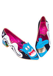 Irregular Choice Shoe Size Chart Irregular Choice Disney Aladdin At Your Service Heels