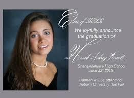 High School Graduation Announcement High School Senior Graduation Announcements Susanblackburnblog