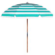 Frankford Umbrella Emerald Coast Collection 7.5 ft. Commercial Steel Beach  Umbrella with Ashwood Pole | Hayneedle