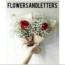 fresh flower bouquet single red rose