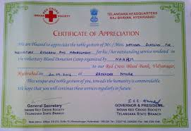 Certificate Of Appreciate Naarm Get Certificate Of Appreciation From Governor And