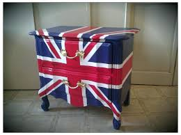 Union jack furniture Flag England British Flag Furniture Reserved For Vintage Refurbished Hand Painted Union Jack Flag Nightstand End Table Uk Lyubovsmisljizniclub British Flag Furniture Lyubovsmisljizniclub