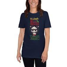<b>Its simple we rustle</b> their jimmies - T-Shirt – ___