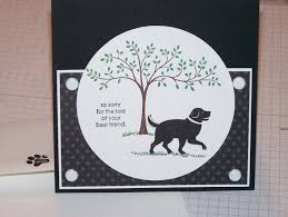 Card For Loss Of Pet Sympathy Card For Loss Of A Pet Stampinjo