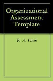 Organizational Assessment Template Extraordinary Amazon Organizational Assessment Template EBook R A Friedl