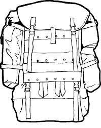 Small Picture Military Camping Backpack Coloring Pages NetArt