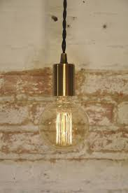 Antique Brass Pendant Light Industrial Modern Lamp par wiresNjars