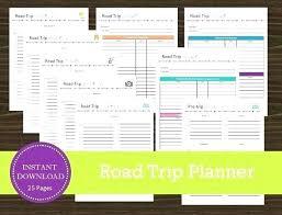 Trip Schedule Template Business Trip Schedule Template Effortless Planner Necessary Travel