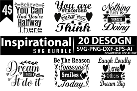 Download the perfect inspiration pictures. Inspirational Svg Bundle Bundle Creative Fabrica