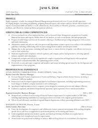 Sample Resume For Financial Controller - http\/\/wwwresumecareer - sample  business resumes