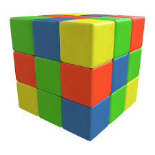 Мягкие игровые модули Кубик-рубик, цена 18990 руб, купить в ...