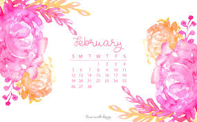 february background. Fine February February 2017 Calendar  Tech Pretties With Background