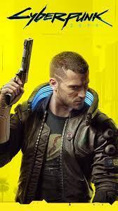 Cyberpunk 2077 Wallpaper Yellow