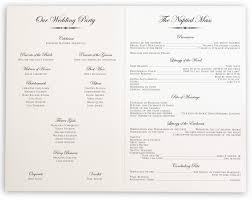 Wedding Ceremony Program Cover Ceremony Programs Wedding Under Fontanacountryinn Com
