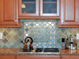 Tile Backsplashes With Granite Countertops Inspiration Tumbled Marble Backsplashes Pictures Ideas From HGTV HGTV