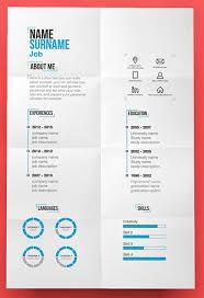 Free Modern Resume Templates Enchanting Free Modern Resume Template PSD Creative Pinterest Sample