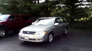 2001 Toyota Avalon XLS Review - YouTube