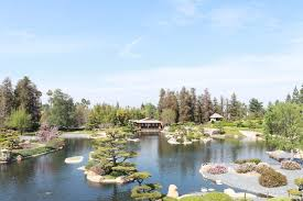 photo of the japanese garden van nuys ca united states lovely day