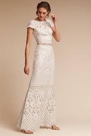 sheath column wedding dresses bhldn