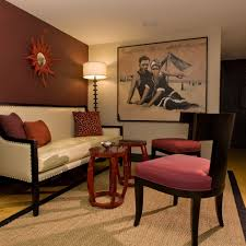 Coral Painted Rooms Family Room Paint Ideas Living Room Traditional With Brown Paint
