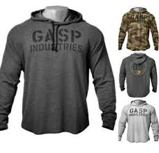 Gasp Clothing Size Chart Details About Gasp Bodybuilding Hoodie Mens Pullover Gym Workout Training Muscle Hooded Top
