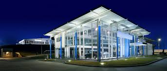 building facade lighting. Architecture And Lighting Go Hand In Hand. Exterior Architectural Fixtures Can Make Just The Right Thing Of A Building Stand Out, Leave Facade