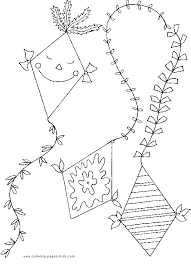 Small Picture Kites Coloring Pages Awesome Kite Color Page Coloring Pages Color