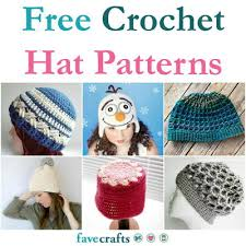 Crochet Hat Patterns Free Extraordinary 48 Free Crochet Hat Patterns FaveCrafts