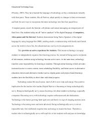 educational technology essay  routines 3 educational technology essay
