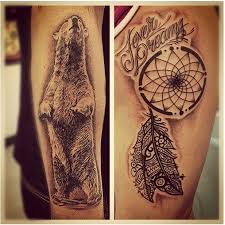 Beautiful Dream Catcher Tattoos Beautiful tribal dreamcatcher tattoo Design Idea for Men and Women 48