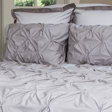 bedroom inspiration and bedding decor the valencia dove grey pintuck duvet cover crane and