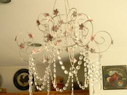 shabby chic candle chandelier vintage shabby chic chandeliers