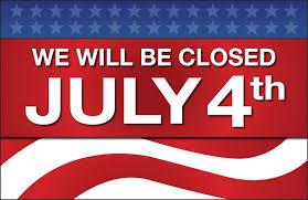 Fourth Of July Closed Sign Rome Fontanacountryinn Com