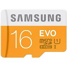 <b>Samsung EVO</b> Class 10 16GB MicroSDHC 48 MB/S <b>Memory</b> Card ...