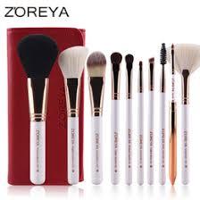 8 photos cosmetic makeup brush holder nz zoreya makeup brush set 10 pcs quality oval makeup brushes