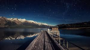 wallpaper night sky 5k 4k wallpaper stars mountains bridge new zealand os 547 taking an 4k images freezing a moment