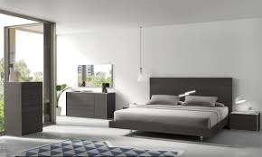 Solid Wood Contemporary Bedroom Furniture Bedroom Full Size White Contemporary Stained Solid Wood Panel Bed