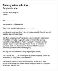 Contract Offer Letter Templates - 9+ Free Word, Pdf Format Download ...
