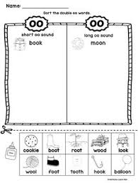 Multiple choice in these printable phonics worksheets, each picture has three words that describe it. Pin On Oo Word Activities Kindergarten