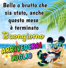 4) Immagini e Frasi di Arrivederci Luglio da scaricare Gratis -  BelleImmagini.it