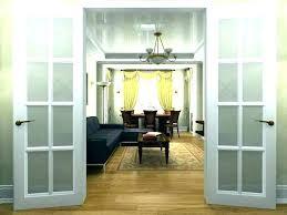 install french doors interior cost to install interior door and trim home depot patio door