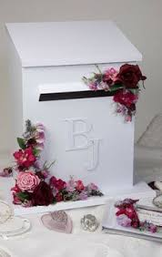How To Decorate A Wedding Post Box We are also having a post box decorated with our white roses and 67