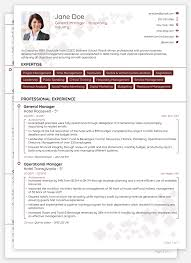 Professional Curriculum Vitae Template Interesting 48 CV Templates [Download] Create Yours In 48 Minutes