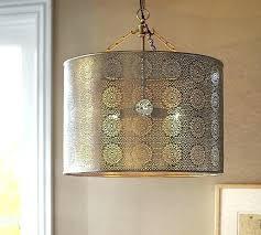 metal drum pendant light metal drum pendant light co property for 6 black lighting metal lattice drum with linen shade pendant light