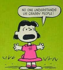 Image result for lucy van pelt angry