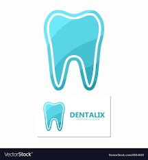 dental logos images set of dental logos tooth design royalty free vector image