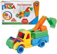 <b>1 Toy Конструктор</b>-пазл Экскаватор 35 элементов — купить в ...