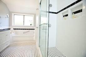 Exellent Traditional White Bathrooms Classic Black Bathroom Remodel Traditionalbathroom For Decor
