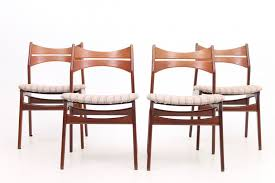 4 dining chairs by erik buch denmark span cl node